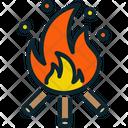 Firewood Flame Wood Icon