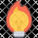 Fire Hot Bonfire Icon
