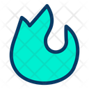 Flame Cook Cooking Icon