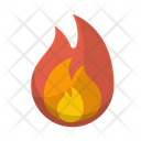 Fire Flame Camping Icon