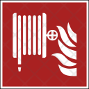 Fire Safety Pump Icon