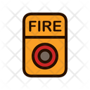 Fire Alarm Fire Button Emergency Button Icon