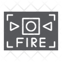 Fire Alarm Safety Icon