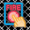 Alarm Call Fire Icon