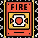 Security Alarm Emergency Icon