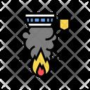 Fire Alarm Color Icon