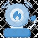 Fire Alarm Siren Fire Safety Icon