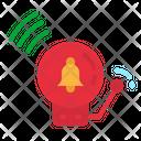Alarm Fire Danger Icon