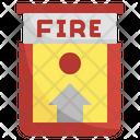 Fire Alarm Alarm System Smart Home Icon