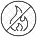 Fire Ban Fire Flame Icon