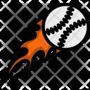 Fire Baseball Icon