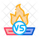 Fire Battle Icon