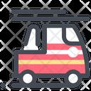 Fire Brigade Van Icon