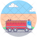 Fire Brigade Fire Engine Fire Department Icon
