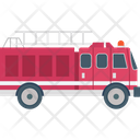Fire Brigade Fire Engine Fire Truck Icon