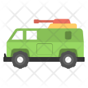 Fire Brigade Vehicle Icon