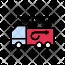 Firebrigade Truck Safety Icon
