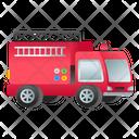 Fire Brigade Fire Truck Fire Vehicle Icon