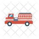 Firebrigade Truck Vehicle Icon