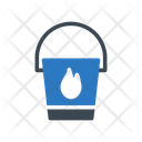 Water Bucket Fire Icon