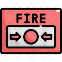 Fire Button Emergency Icon