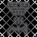 Fire detector Icon