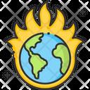 A Earth Fire Earthearth Fire Fire Planet Icon