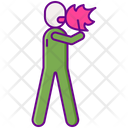 Fire Eater Fire Breather Fire Man Icon