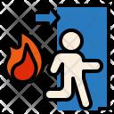Exit Run Escape Icon