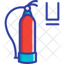 Fire Extinguisher Emergency Safety Icon