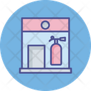Fire Extinguisher House Extinguisher Fire Icon