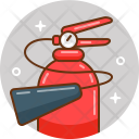 Fire Extinguisher Camping Icon