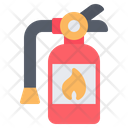 Fire Extinguisher Firefighter Firefighting Icon