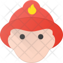 Fire Fighter Firefighter Icon