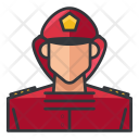 Fire Fighter Man Icon