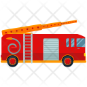 Fire Fighter Fire Truck Icon