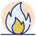 Fire Flame Bonfire Campfire Icon