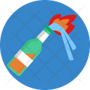 Protest Demonstration Fire Icon