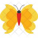 Fire Flames Butterfly Icon
