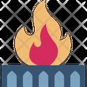 Fire Gas Icon