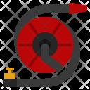 Firehose Pipe Hose Icon