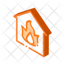 Fire Building Equipment Icon