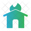 Fire House Fire Home Fire Icon