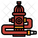 Fire Hydrant Hydration Icon