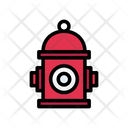 Hydrant Fire Fighter Icon