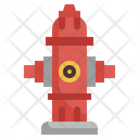 Fire Hydrant Water Firefighter Icon