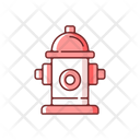 Fire Hydrant Safety Icon