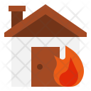 Fire in home Icon