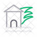 Fire in house Icon