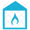 Fire House Building Icon